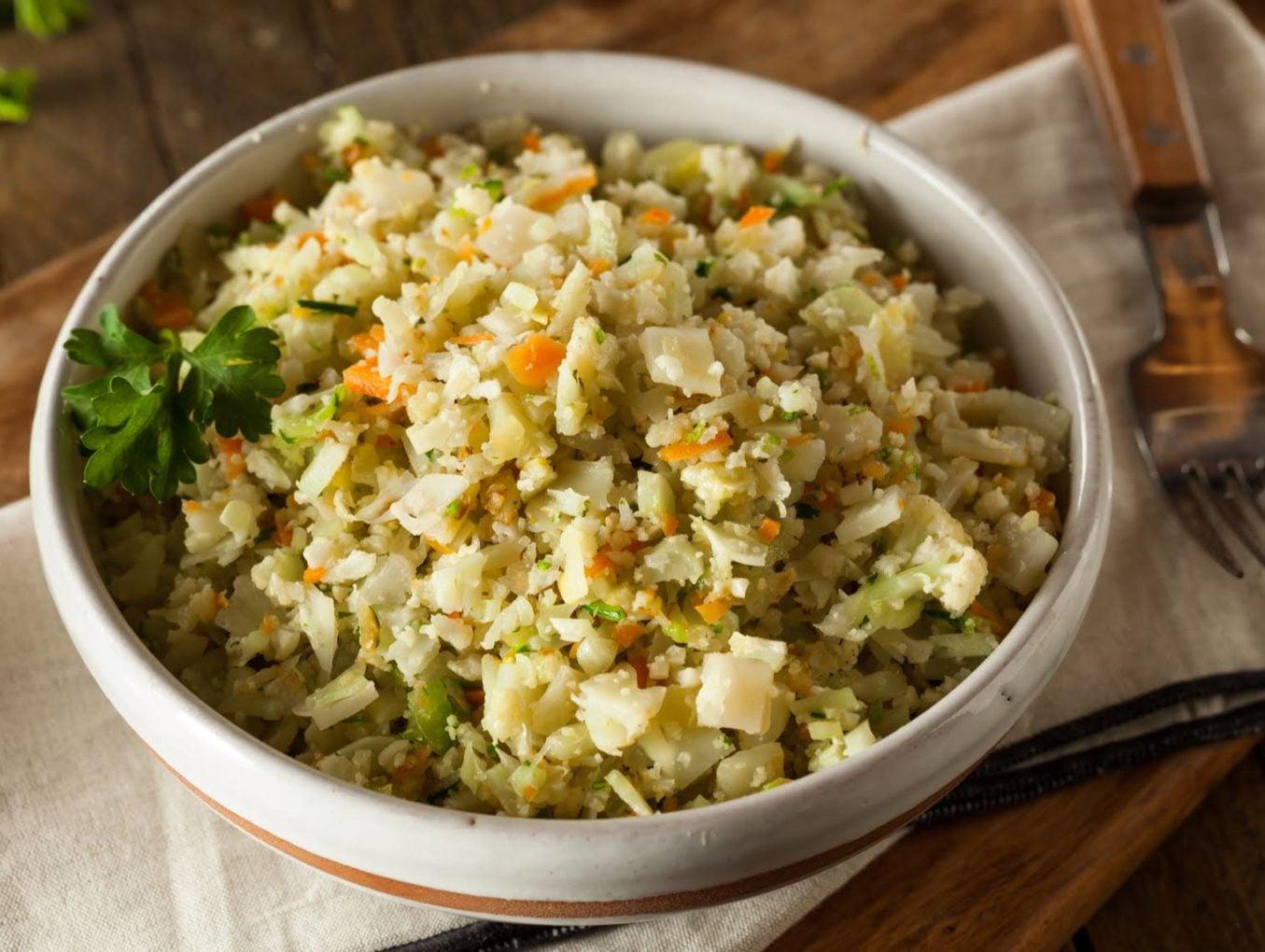7 Day Indian LCHF & Keto Diet Plan - Rice Alternative Recipes