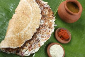 south indian low carb lchf recipes menu 300x200 - Onion dosa is typically  South Indian pancake.