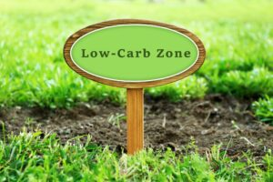 low carb high fat lchf keto diet 300x200 - Low-Carb Zone text on wooden signboard over grass, outdoors