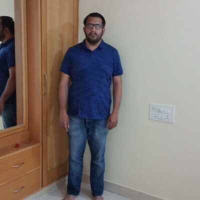vishnu after 400x400 - We Are The Champions: 50 Success Stories With Pics - Diabetes Reversal & Weight Loss On Indian LCHF Diet
