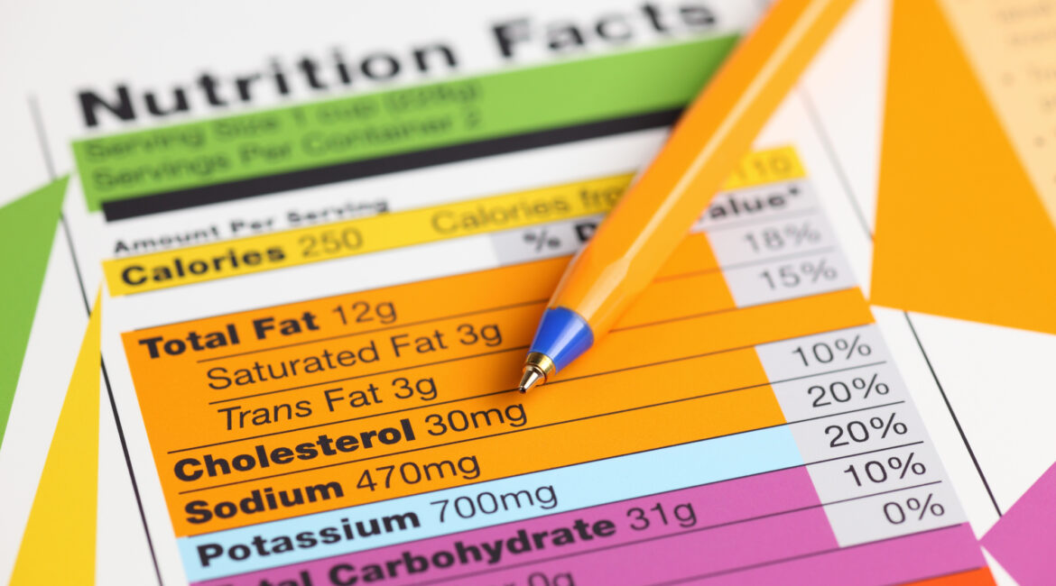 nutrition facts 1170x650 - dLife FoodLog - Nutrition Facts & Calories Database