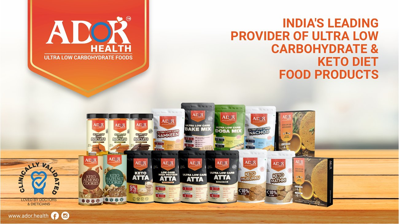 ADOR Health -- Low Carb & Keto Products -- on dLife.in Platform