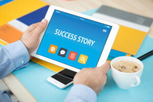 success stories 300x200 - INDIAN LCHF Low Carb Keto SUCCESS STORIES CONCEPT ON TABLET PC SCREEN